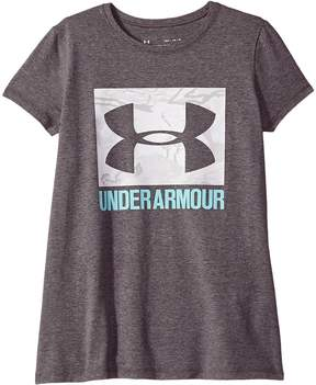 Under Armour Kids UA Camo Fill Tee Girl's T Shirt