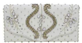 La Regale Genevieve Edwardian Flap Clutch.