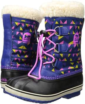 Sorel Yoot Pac Nylon Print Girls Shoes