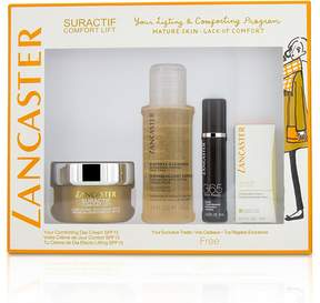 Lancaster Suractif Comfort Lift Set: Comforting Day Cream 50ml+ Serum Youth Renewal 10ml+ Lifting Eye Cream 3ml+ Express Cleanser 100ml