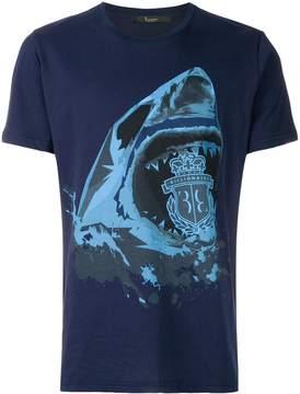 Billionaire shark print T-shirt