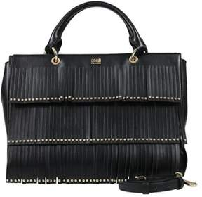 Class Roberto Cavalli Black Medium Handbag Aloha 002.