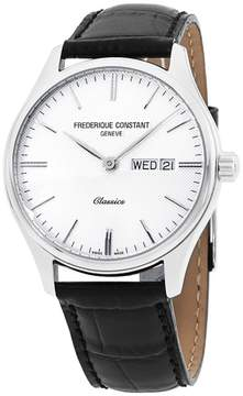 Frederique Constant Classics FC225ST5B6 Silver Tone Stainless Steel & Silver Dial 40mm Mens Watch