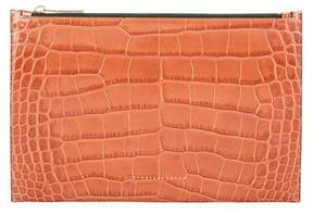 Victoria Beckham Small Simple embossed leather clutch