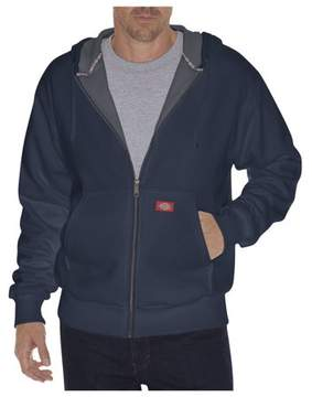 Dickies Mens Thermal Lined Fleece Hoodie, Dark Navy - 4XL