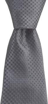 Murano Twin-Print Narrow Silk Tie