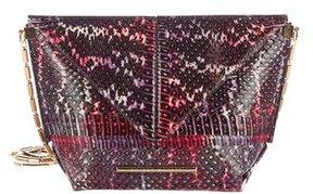 Roland Mouret Snakeskin Classico Origami Bag
