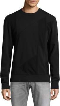 BLK DNM Men's 61 Patch Crewneck Sweatshirt
