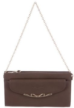 Lancaster Leather Wallet On Chain