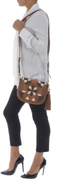 Michael Kors Brooklyn Patchwork Shoulder Bag - CAMMELLO - STYLE