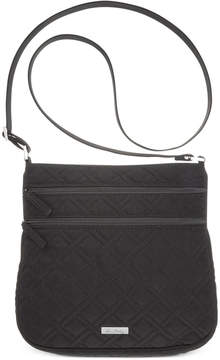 Vera Bradley Triple Zip Hipster - CHARCOAL - STYLE