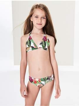 Oscar de la Renta Kids Kids | Jungle Monkeys Two-Piece Swimsuit | 14 years