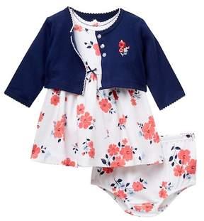 Little Me Blossom Dress Set (Baby Girls)