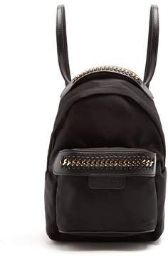 Stella McCartney Falabella Eco Nylon Backpack - Womens - Black
