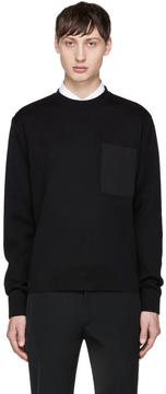 Prada Black Nylon Pocket Pullover