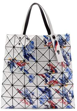 Bao Bao Issey Miyake Lucent Pvc Paint Effect Tote - Womens - Blue White