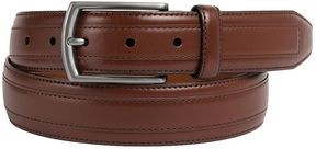 Johnston & Murphy Leather Overlay Belt