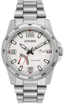 Citizen PRT AW7031-54A Silver Men's Eco-Drive Watch