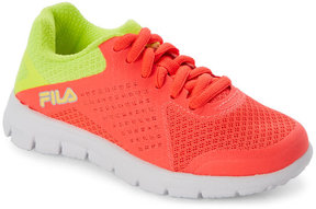 Fila Toddler Girls) Faction Neon Sneakers