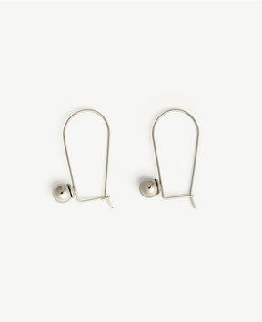 Ann Taylor Wire Drop Earrings
