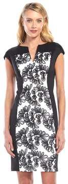 Connected Apparel Soutache Sheath Dress - Women's
