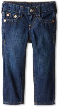 True Religion Geno Relaxed Slim Vintage Gold Single End Classic in Antique Boy's Jeans