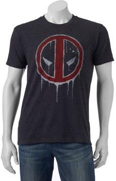 Marvel Men's Deadpool Drip Tee
