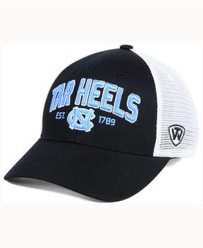 Top of the World North Carolina Tar Heels Black Mesh Teamwork Snapback Cap