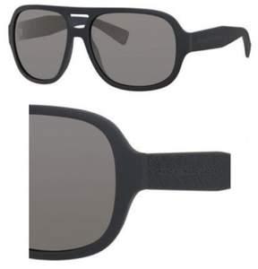 Marc by Marc Jacobs MMJ483S MMJ 483/S HBX/T4 Dark Grey Pilot Sunglasses 60mm