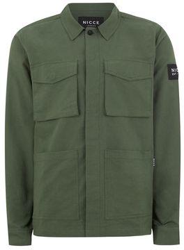 Nicce Khaki 'Fatigue' Jacket