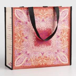 World Market Jaipur Om Wide Tote
