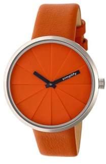 Simplify Men's The 4000 Quartz Watch.