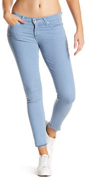 Big Star Alex Frayed Cuff Ankle Skinny Jeans