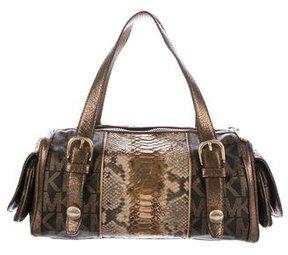 MICHAEL Michael Kors Metallic Embossed Handle Bag - METALLIC - STYLE