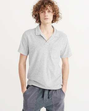 Abercrombie & Fitch Terry Polo