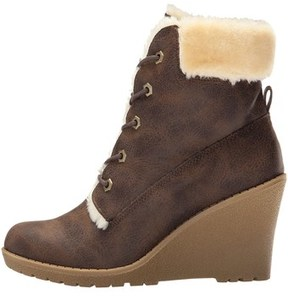 DOLCE by Mojo Moxy Womens Fresco Closed Toe Ankle Platform Boots.