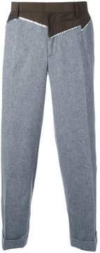 Kolor patchwork trousers