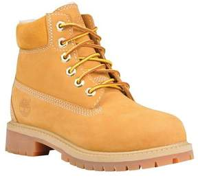 Timberland Boys' 6' Premium Boot with Faux Shearling (Juniors')