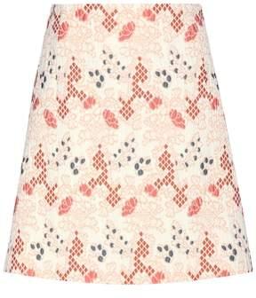 Vanessa Bruno Cotton-blend jacquard miniskirt