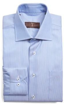 Robert Talbott Men's Classic Fit Stripe Dress Shirt