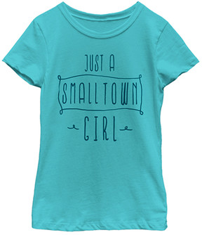 Fifth Sun Blue 'Just a Small Town Girl' Tee - Girls