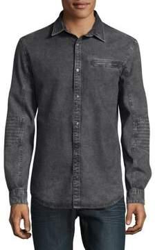 Calvin Klein Jeans Biker Denim Shirt