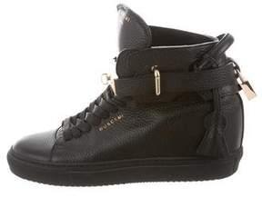 Buscemi Alta 100 High-Top Sneakers