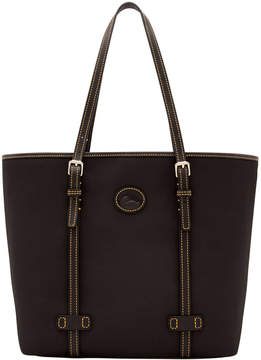 Dooney & Bourke Nylon East West Shopper - BLACK BLACK - STYLE