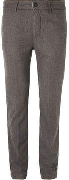 Massimo Alba Winch Slim-Fit Houndstooth Wool Trousers