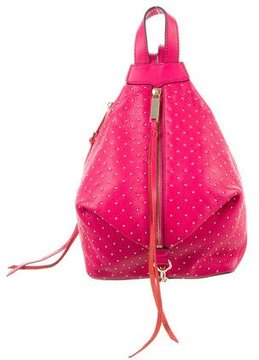 Rebecca Minkoff Studded Julian Backpack - PINK - STYLE