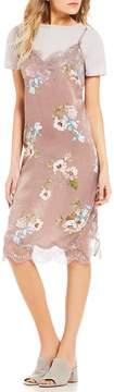 Chelsea & Violet C&V Floral Slip Dress