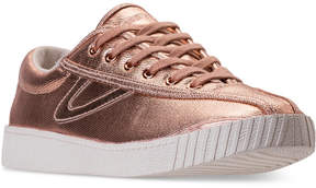 Tretorn Women's Nylite Plus Metallic Casual Sneakers from Finish Line