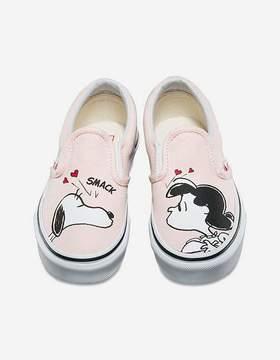 Vans x PEANUTS Smack Classic Slip-On Girls Shoes