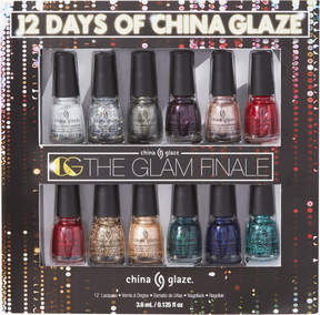 China Glaze Glam Finale 12 pc Book